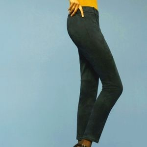 Aritzia Babaton Elliot Black Suede Pants